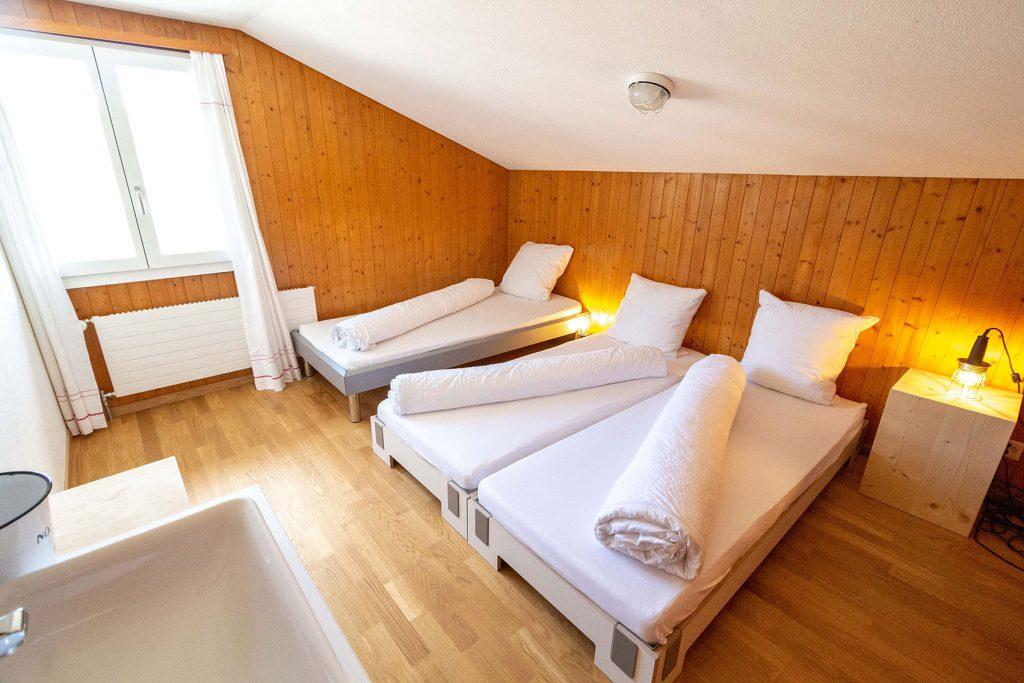 3-Bett Zimmer Bärghuis Schönbüel