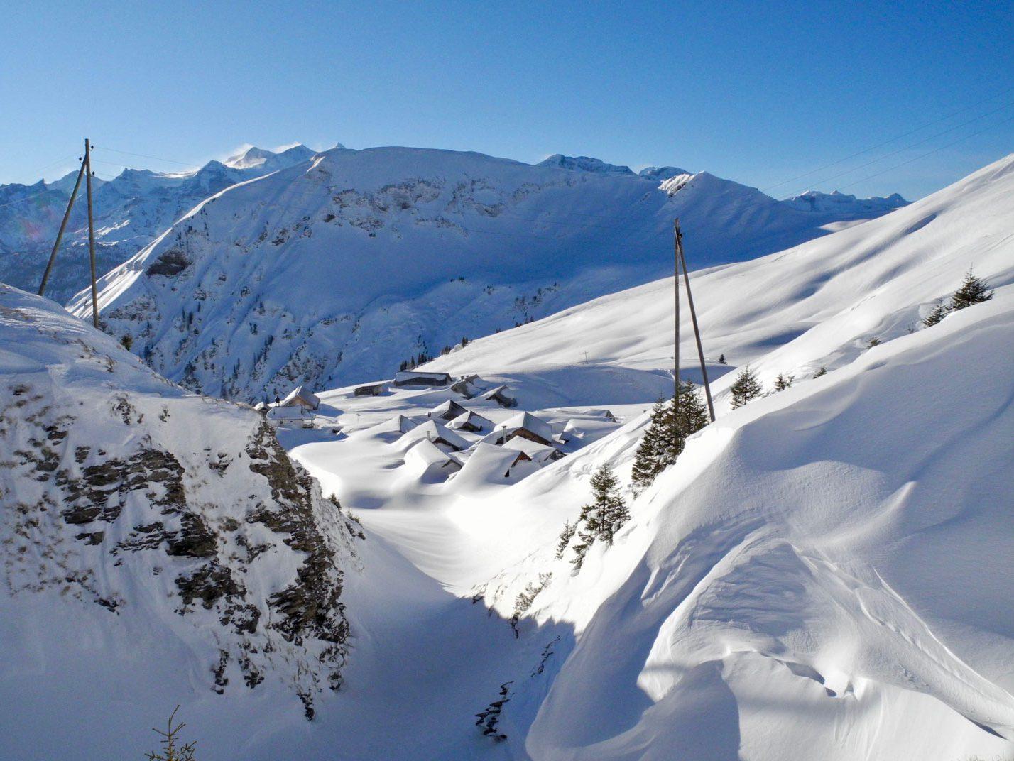 Winter Skitour Turren Schönbüel Obwalden